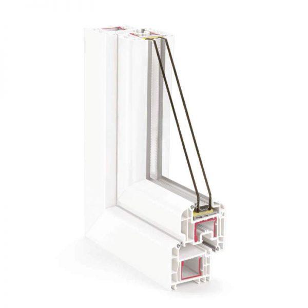 PVC дограма REHAU Euro-Design 70